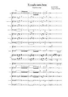 Ti voglio tanto bene: Score, parts by Ernesto de Curtis