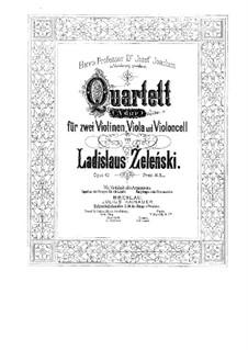 String Quartet in A Major, Op.42: String Quartet in A Major by Władysław Żeleński