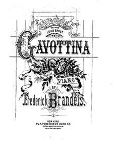 Gavottina: Gavottina by Frederick Brandeis