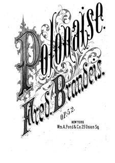 Polonaise, Op.52: Polonaise by Frederick Brandeis