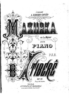 Mazurka in A Major, Op.12: Mazurka in A Major by Brasílio Itiberê da Cunha