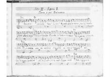 Alessandro nell'Indie: Act III by Leonardo Vinci