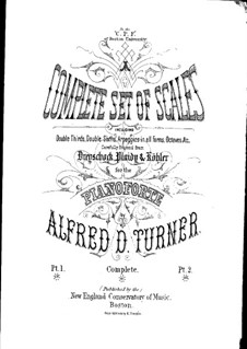 Complete Set of Scales: Book II by Alfred Dudley Turner