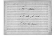 Prelude in G Minor for Flute and Organ: Score by Johan Peter Emilius Hartmann