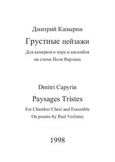 Paysages Tristes: Paysages Tristes by Dmitri Capyrin
