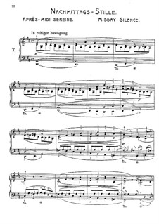 Scenes of Travel, Op.17: No.7 Midday Silens by Adolf Jensen