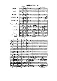 Symphony No.93 in D Major, Hob.I/93: Full score by Joseph Haydn