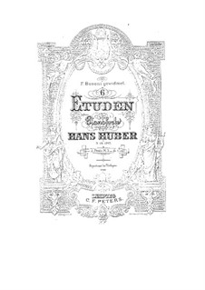 Prelude and Fugue: Prelude and Fugue by Hans Huber
