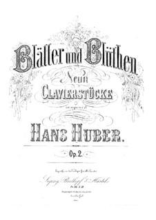 Blätter und Blüthen, Op.2: Nr.1 Nachtgesänge by Hans Huber