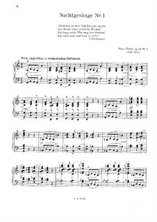 Six Pieces, Op.22: Piece No.1 by Hans Huber