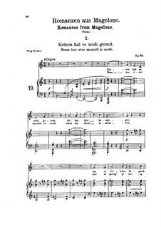 Fifteen Romances, Op.33: Complete set by Johannes Brahms