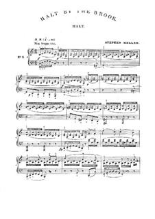 No.3 Halt (Stop): Piano score by Franz Schubert