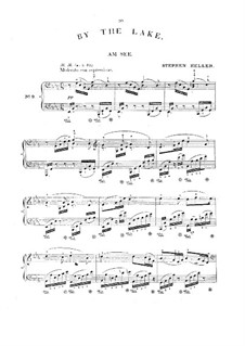 Am See (By the Lake), D.746: Arrangement for piano by Franz Schubert