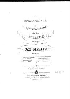 Lucrezia Borgia: Selected Melodies, for guitar by Gaetano Donizetti