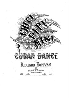 Chi-Ci Pipi Nini. Cuban Dance for Piano: Chi-Ci Pipi Nini. Cuban Dance for Piano by Richard Hoffman