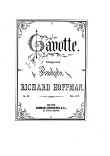 Gavotte for Piano, Op.68: Gavotte for Piano by Richard Hoffman