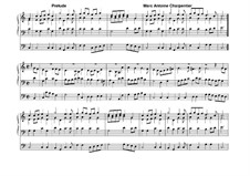 Prelude in C Major: For organ by Marc-Antoine Charpentier