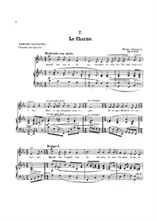 Seven Melodies for Voice and Piano, Op.2: No.2 Le charme by Ernest Chausson