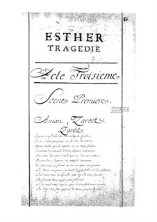 Esther: Act III by Jean-Baptiste Moreau
