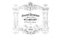 Complete Opera: For piano four hands by Wolfgang Amadeus Mozart