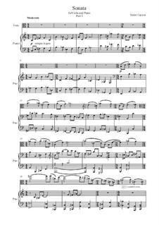 Sonata for Viola and Piano: Sonata for Viola and Piano by Dmitri Capyrin
