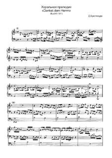 Danket dem Herrn, BuxWV 181: Danket dem Herrn by Dietrich Buxtehude