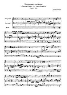 Gelobet seist du, Jesu Christ, BuxWV 188: Gelobet seist du, Jesu Christ by Dietrich Buxtehude