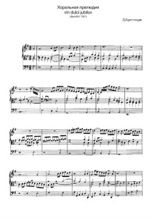 In dulci jubilo, BuxWV 197: For organ by Dietrich Buxtehude