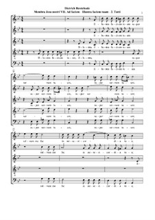 Membra Jesu Nostri (The Limbs of our Jesus), BuxWV 75: No.7 Ad faciem (To the face). Movement II 'Illustra faciem tuam' by Dietrich Buxtehude