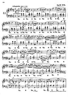 Mazurkas, Op.63: No.3 in C Sharp Minor by Frédéric Chopin