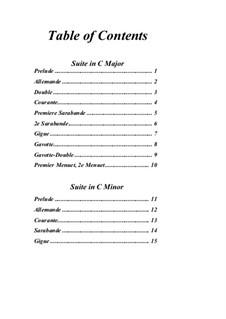 Pieces for Harpsichord: Complete set by Louis-Nicolas Clérambault