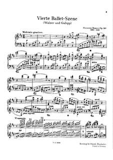 Ballet Scene No.4, BV 238 Op.33a: Waltz and Gallop by Ferruccio Busoni