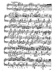 Fragmnets: Movement II. Version for piano by Frédéric Chopin
