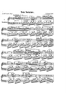 Nocturnes (Collection): No.1-19 by Frédéric Chopin