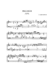 Prelude in D Minor: Prelude in D Minor by Abraham van den Kerckhoven