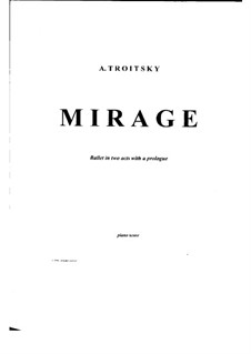 Ballet 'Mirage': No.01 Introduction by Arkadi Troitsky