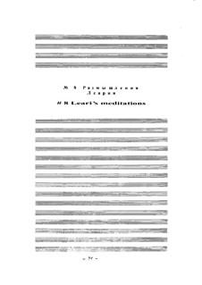 Ballet 'Mirage': No.09 Leari's meditations by Arkadi Troitsky