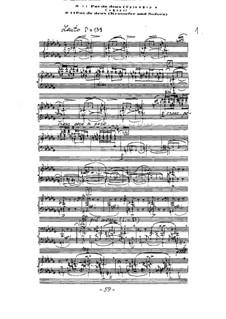 Ballet 'Mirage': No.12 Pas de deux (Krutsefer and Sofora) by Arkadi Troitsky