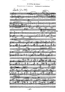Ballet 'Mirage': No.14 Sofora's variation by Arkadi Troitsky