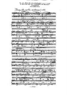 Ballet 'Mirage': No.26 Pas de six. Adagio by Arkadi Troitsky