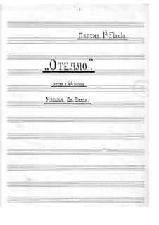 Otello: Flute part by Giuseppe Verdi