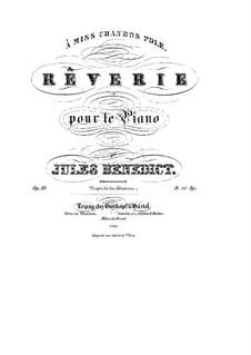 Rêverie, Op.39: Rêverie by Julius Benedict