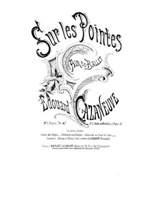 Sur les pointes for Violin (or Mandolin) and Piano: Sur les pointes for Violin (or Mandolin) and Piano by Edouard Cazaneuve