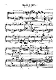 Four Dances for Piano: Four Dances for Piano by Ignacio Cervantes