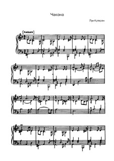 Chaconne in D Minor: Chaconne in D Minor by Louis Couperin