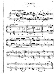 Rondo in C Major, Op.73: For piano by Frédéric Chopin