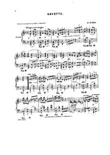 Gavotte in D Minor: Gavotte in D Minor by Hans Huber