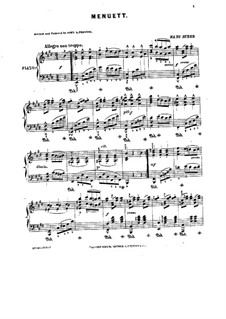 Minuet in E Major: Minuet in E Major by Hans Huber