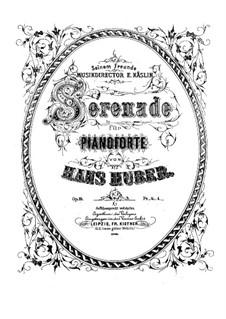 Serenade for Piano, Op.19: Serenade for Piano by Hans Huber