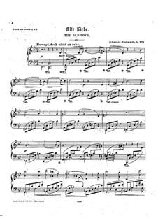 Selected Songs VI: Selected Songs VI by Johannes Brahms